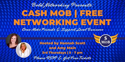 Tulsa Cash Mob - FREE Networking Event | March 2020