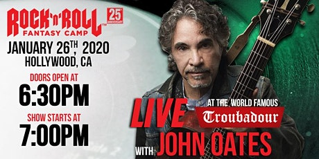 ROCK 'N' ROLL FANTASY CAMP FEATURING JOHN OATES - ONE NIGHT ONLY! tickets