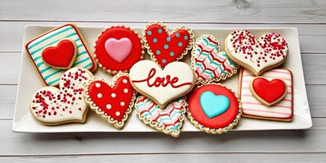 Valentine Cookie Decorating Party and Mini Make-and-Take Project @ AR Workshop  - Franklin tickets