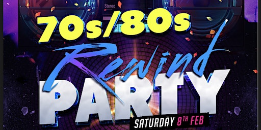Rewind 70's/80's Party for Sick Kids Cystic Fibrosis Clinic