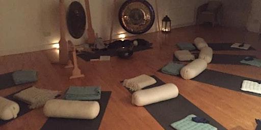 Candlelit Gong Meditation Jan 18 - Henley