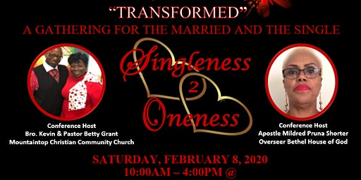 Singleness to Oneness Conference