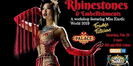Salt City Burlesque: Rhinestones & Embellishments w/ Frankie Ficticious