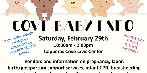 Copperas Cove Baby Expo--VENDOR REGISTRATION ONLY
