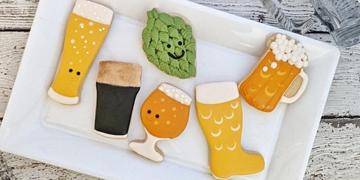 Sip & Ice: Hoppy Little Cookie Decorating @ Redemption Rock Brewing Co