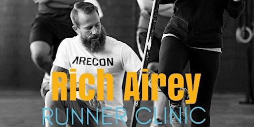 Rich Airey Runner Clinic