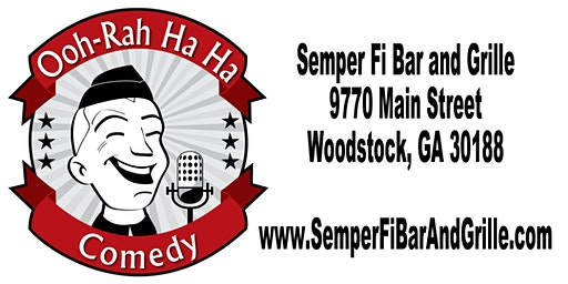 OOH-RAH HA HA Comedy - February 1, 8pm.