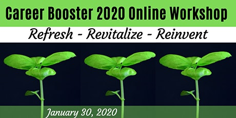 Career Booster 2020 Webinar: Re-envision your resume & LinkedIn tickets