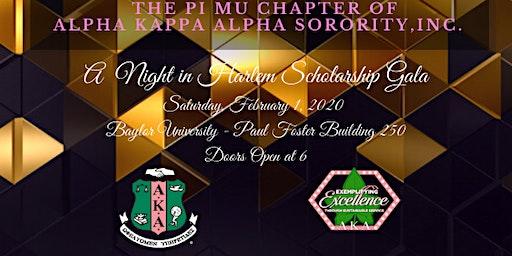Alpha Kappa Alpha, Pi Mu Chapter A Night In Harlem Scholarship Gala