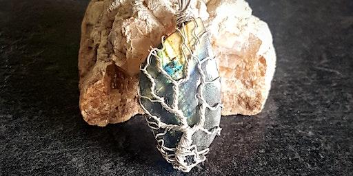 Jewellery Making: Tree of Life Cabochon Pendant