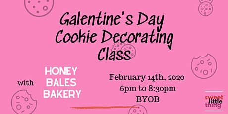 Galentine's Day Cookie Decorating Class tickets