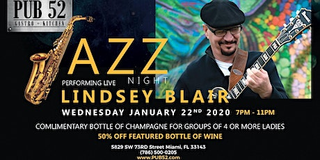 Jazz Night with Lindsey Blair: Jan 22nd tickets