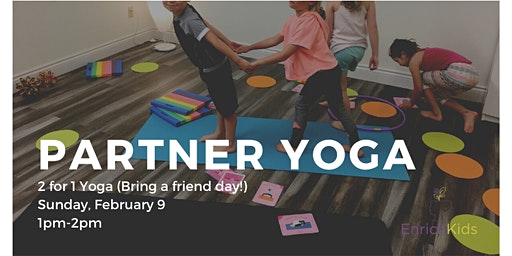 Partner Yoga Playshop (K-Grade 5)