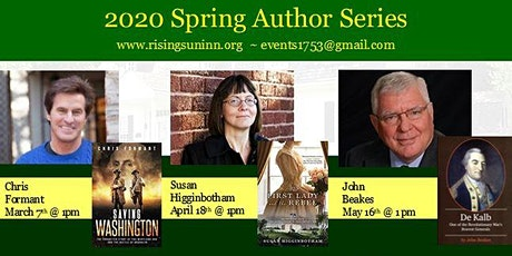 Spring 2020 Author Series tickets