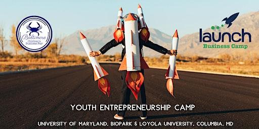 Launch Business Camp, Loyola University, Columbia, MD
