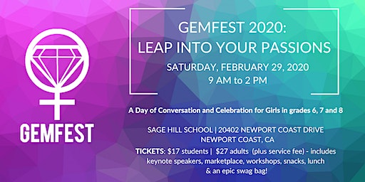 GEMfest 2020: Leap Into Your Passions