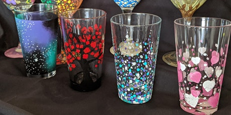 Pint Glass Painting Class tickets