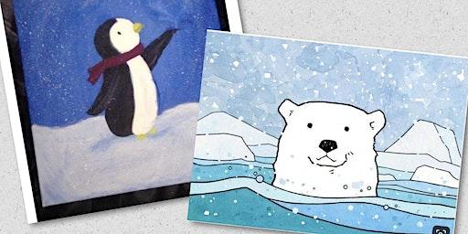 Polar Bear or Penguin Open Studio