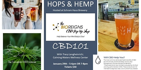 HOPS & HEMP at Schram Haus Brewery Jan. 29th tickets