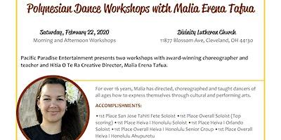 Polynesian Dance Workshops with Malia Erena Tafua