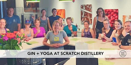 Gin + Yoga @ Scratch Distillery