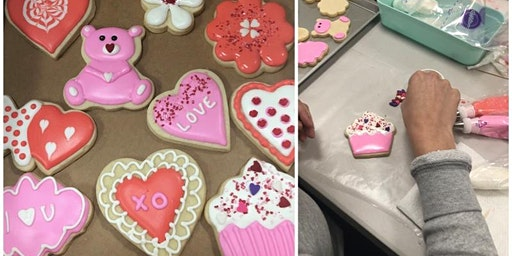 Cookie Decorating: Valentines Day Sugar Cookies at Fran's Cake and Candy Supplies