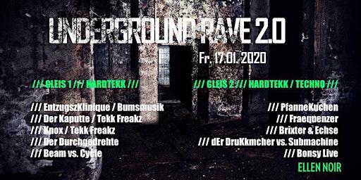 Underground Rave 2.0 Hardtekk