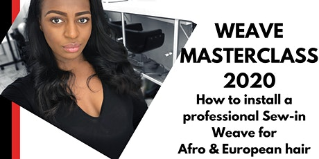 Weave Masterclass 2020: Professional Sew-In Weave at Heroine Hair Salon tickets