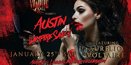 Austin Vampire Salon ft. Aurelio Voltaire tickets