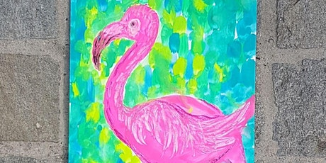 Brightly Painted Pink Flamingos tickets
