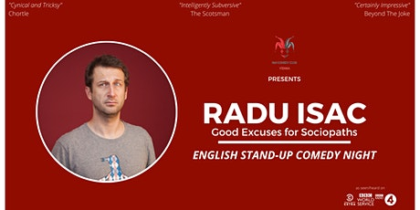 Radu Isac (RO) - English Stand-Up Comedy Tickets