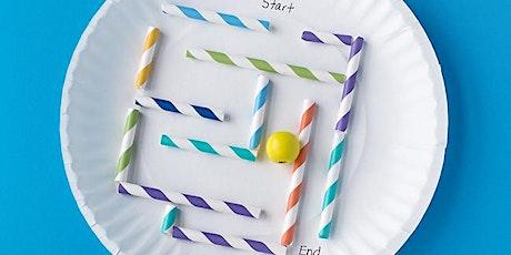 Design a Colourful Maze tickets