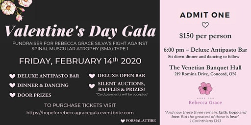 Valentine's Day Gala - Hope For Rebecca Grace