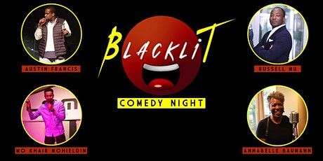 Blacklit Comedy Night - English Comedy Showcase Tickets