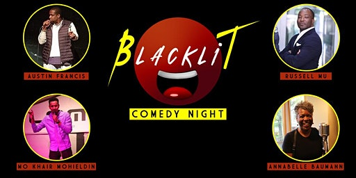 Blacklit Comedy Night - English Comedy Showcase