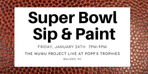 Super Bowl Sip & Paint