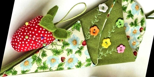 Sewing workshop for beginners - Scissor case and Accessories