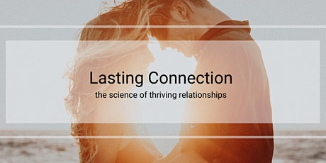 March 27: BUILDING A LASTING CONNECTION tickets