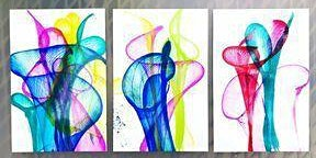 Scribbles Art School: Pull String & Pour Paint