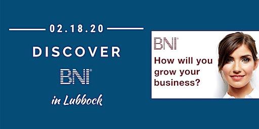 Discover BNI in Lubbock