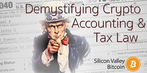 Demystifying Crypto Accounting & Tax Law + livestream