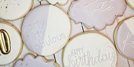 Valentine's Beginner Cookie Decorating Class tickets