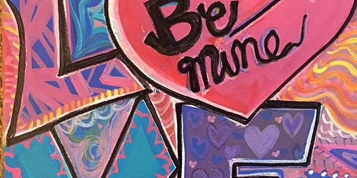 Pour & Paint Feel the Love