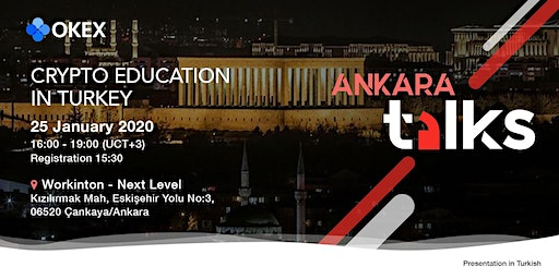 OKEx Talks 2020 - Ankara: Crypto Education in Turkey