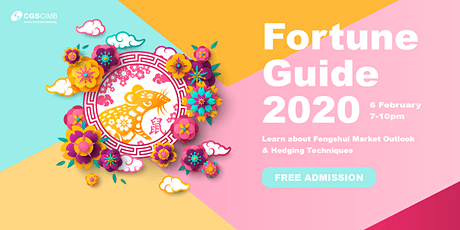 Fortune Guide 2020:  Fengshui & Wealth tickets