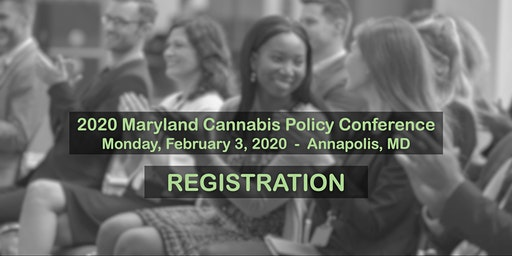 2020 Maryland Cannabis Policy Conference and Award Reception