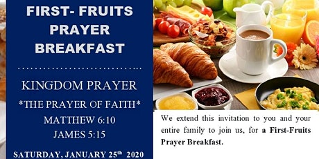 First Fruits Prayer Breakfast 2020 tickets