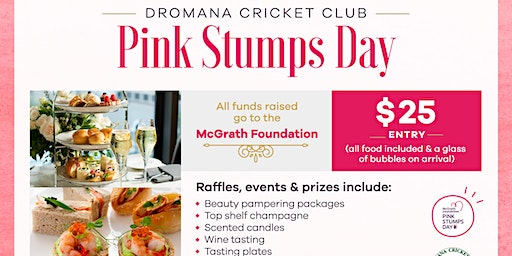 Dromana CC - PINK STUMPS DAY