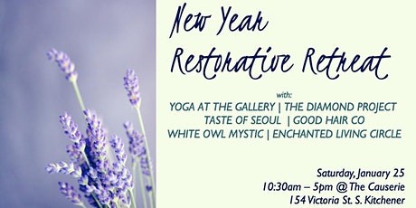 New Year Restorative Retreat tickets