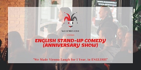 1 Year Anniversary Show (English Stand-Up Comedy) tickets